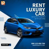 Rent Average Car Vierkant (1:1) template