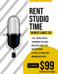 Rent Studio Time