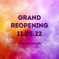 Reopening Color Splash happy Opening celebrat