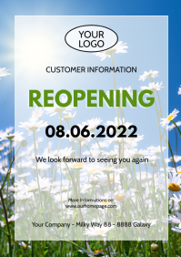 Reopening Information opening news customer i
