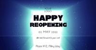Reopening opening video door open invitation