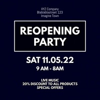 Reopening Party Celebration event Video