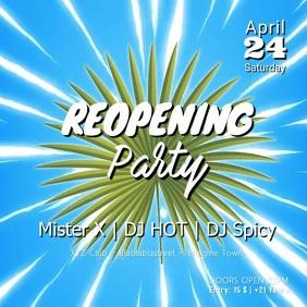 Reopening Party Summer Sun Club Bar Dj