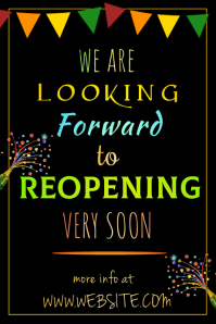 Reopening Soon Poster