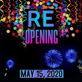Reopening Soon Video