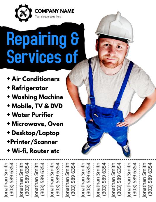 Repair & Services Flyer