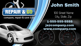 Repair and Go Automotive Business Card