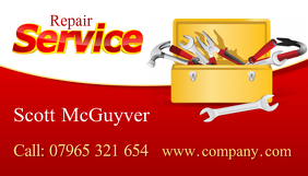 Repair Service Business Crad