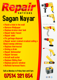 Repair Services Business Flyer