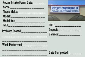 repair ticket template postermywall