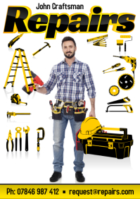 Repairs Business Flyer