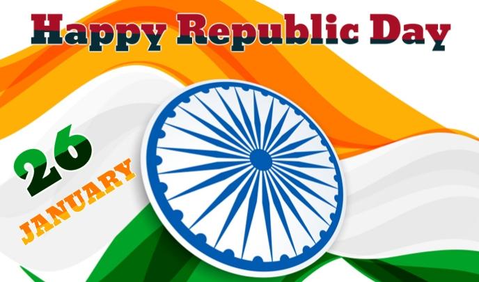 Republic Day Tag template