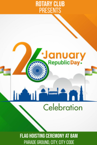REPUBLIC DAY Poster template