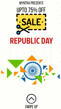 REPUBLIC DAY SALE Instagram 故事 template