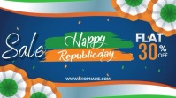 Republic Day Template Digitalt display (16:9)