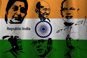 Republic India poster template