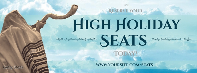 Reserve High Holiday Seats