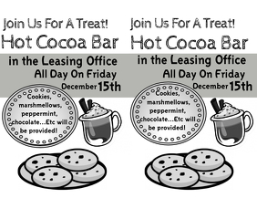 Resident Appreciation Hot Cocoa Bar
