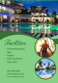 Resort flyer