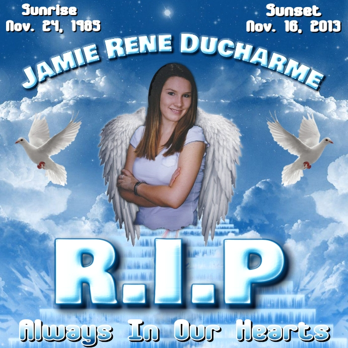 REST IN PEACE HEAVEN MEMORIAL