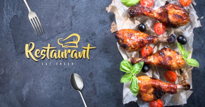Restaurant Ad Template