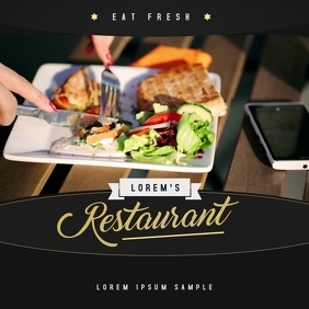 Restaurant Ad Video