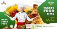 Restaurant ads Anuncio de Facebook template