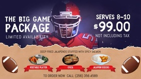 Restaurant All you can eat Offer Football Tournament Digital