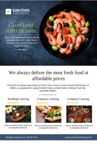 Restaurant And Catering Flyer