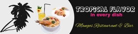 restaurant/banner/food/bar/hispanic/comida Transparent 2 stopy × 8 stóp template