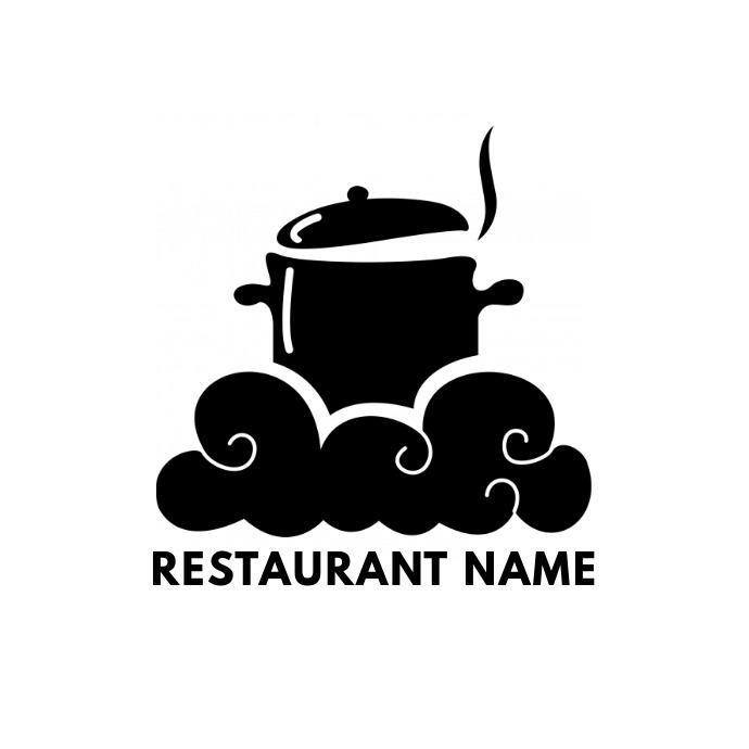 Restaurant Brand Logo Template