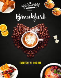 Restaurant Breakfast Flyer