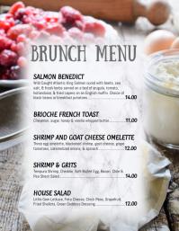 Restaurant Brunch Menu Flyer