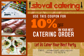 Catering Business Flyer Template