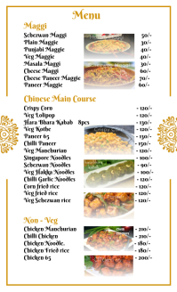 Restaurant Cuisine Menu Template US Legal