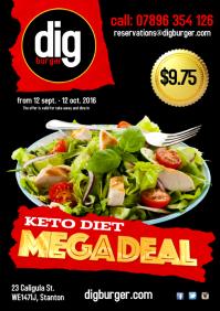 Restaurant deal Poster