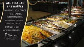 Restaurant Digital Display Video Template