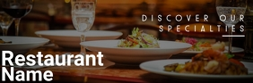 Restaurant email header Koptekst e-mail template