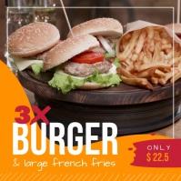 Restaurant Fast Food Square Video