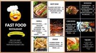restaurant flyer Umbukiso Wedijithali (16:9) template