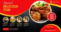Restaurant Flyer โฆษณา Facebook template