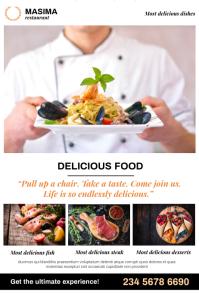 Restaurant Flyer Poster template