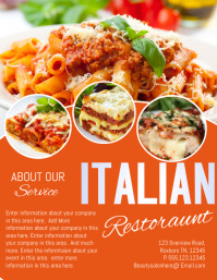 restaurant Volante (Carta US) template