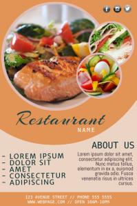 restaurant flyer templates