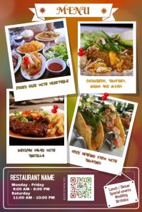 restaurant flyers templates