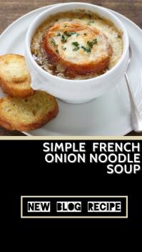 Restaurant Food Blogger Instagram Instagram-Story template