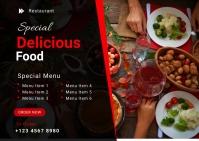 Restaurant Food Menu Template Ikhadi leposi
