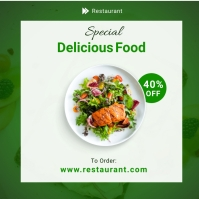 Restaurant Food Menu Template Instagram Post