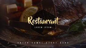 Restaurant/Food Video Template
