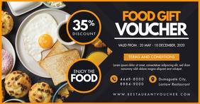 Restaurant Food Voucher Template